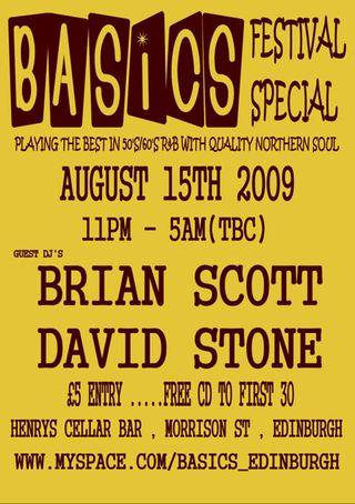Basics august 2009 flyer