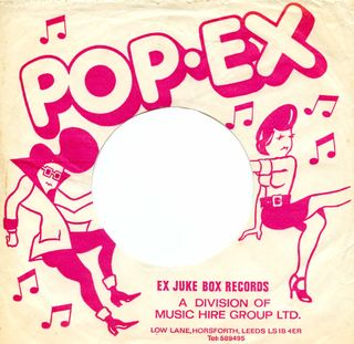 Ex-jukebox - 1960's Pop.Ex pink