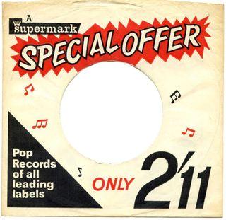 Ex-jukebox 1960's- Supermark Special Offer red