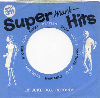 Ex-jukebox - 1960's Supermark Hits blue