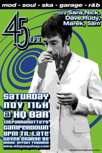 Flyer_45rpmsydney