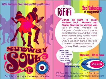 Flyer_subwaysoul_nyc_2007