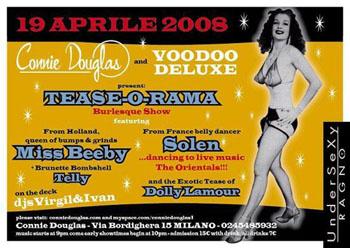 Burlesque 19 april milan italy